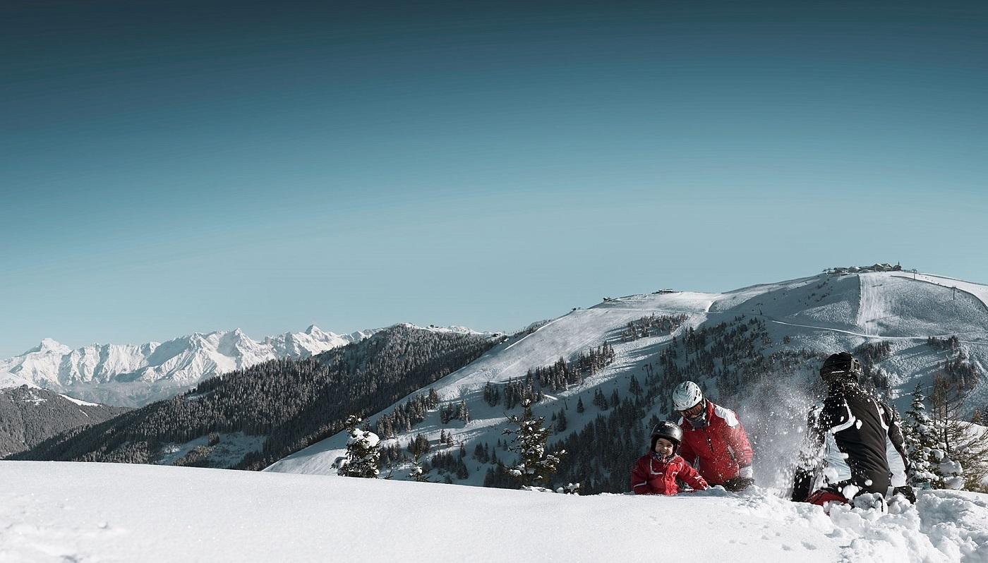Ski in ski out for Designhotel skigebiet